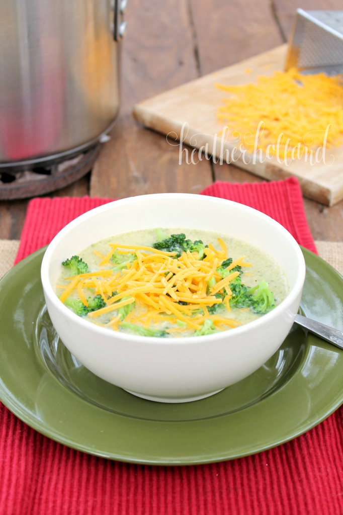 broccoli leek soup