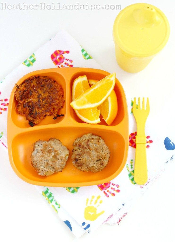 balanced toddler breakfast