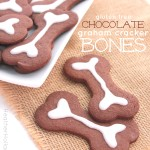 gluten free Chocolate Graham Cracker Cookie Bones - HeatherHollandaise