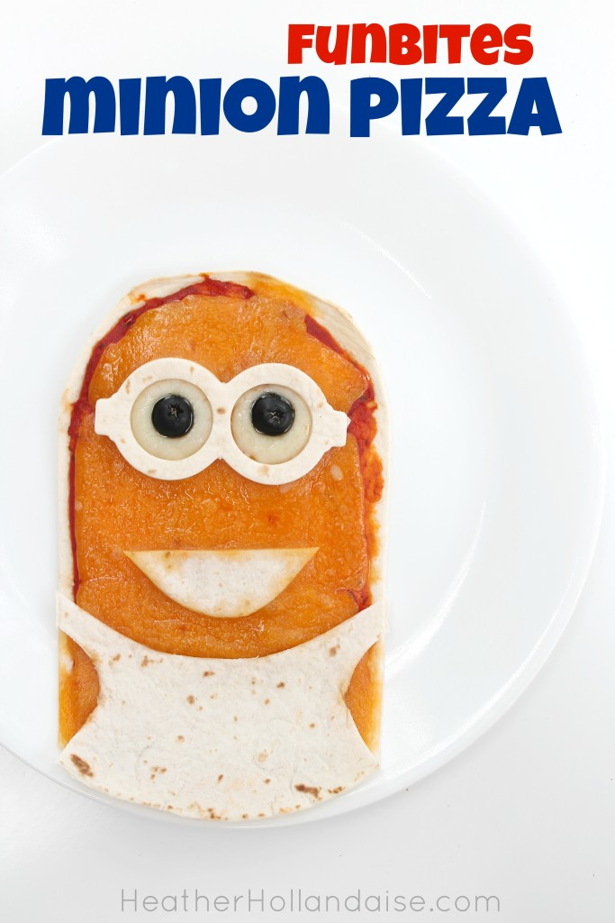 Funbites Minion Pizza - Heather Hollandaise