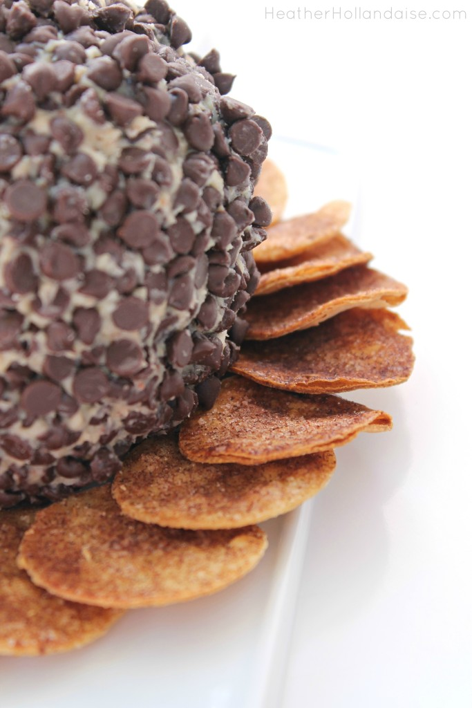 Peanut Butter Crunch Monster Cheeseball