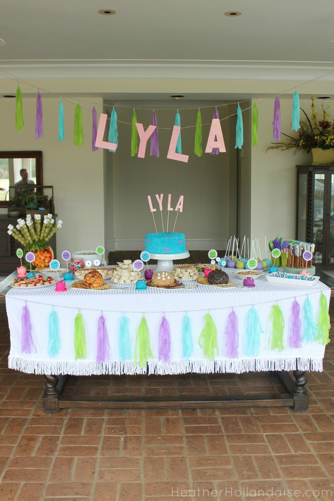 Monster's Inc Monster Mash Birthday Party